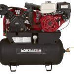 NorthStar Portable Gas Powered Air Compressor - Honda GX390 OHV Engine