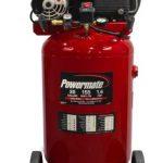 Powermate Vx PLA1683066 30-Gallon Portable Twin Cylinder Cast Iron Air Compressor