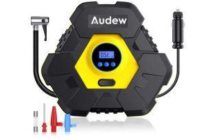 Audew Upgraded Portable Air Compressor Tire Inflator, 12V 150PSI