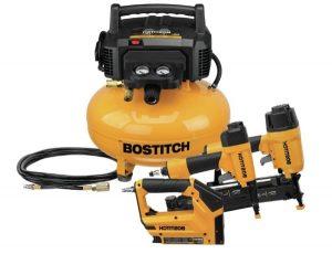 BOSTITCH Air Compressor – Combo Kit, 3-Tools