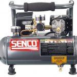 Senco PC1010 1-Horsepower Peak, 1/2 hp running 1-Gallon Compressor